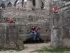 Wir im Kolosseum