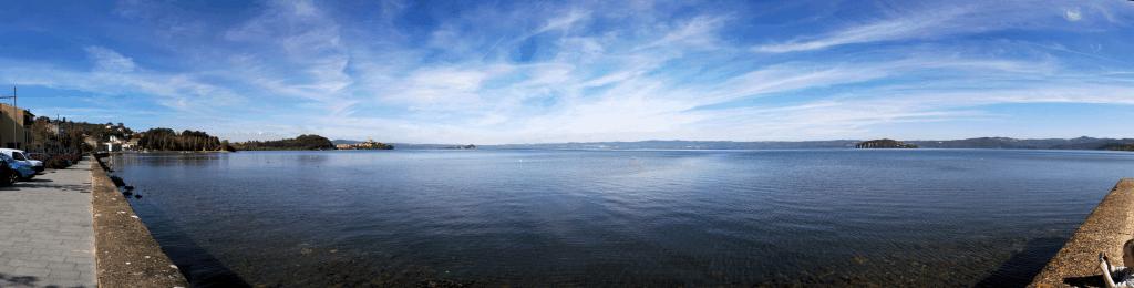 Marta am Lago die Bolsena in der Provinz Viterbo, Italien